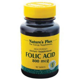 Nature's Plus ACIDO FOLICO mcg 800 90 tav.