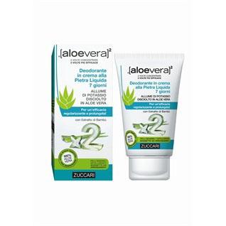 aloevera deodorante crema pietra liquida 30 ml 7 giorni zuccari