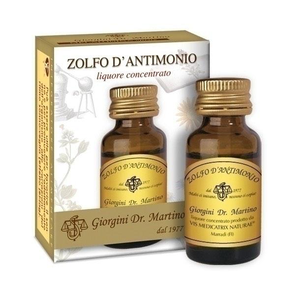 DR Giorgini Martino ZOLFO D'ANTIMONIO 10 ml